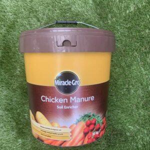 miracle gro chicken manure soil enricher